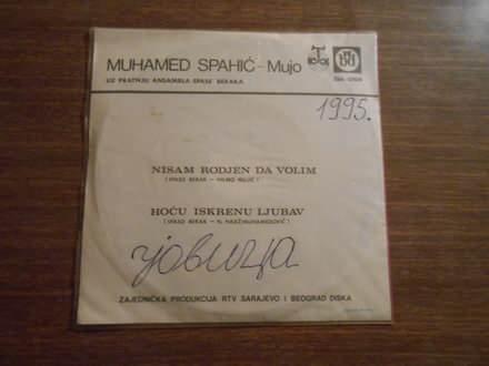 Muhamed Spahić - Nisam Rodjen Da Volim