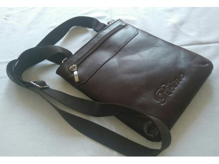 Muška kožna torbica, goveđa koža, izrada