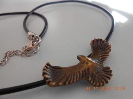 Muška ogrlica  Orao u letu