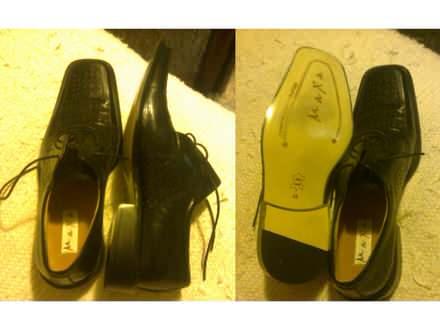 Muške crne cipele