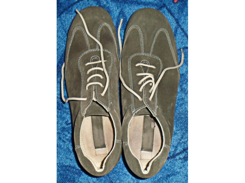 Muške sivo-zelene, cipele-patike broj 44