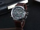 Muski elegantan rucni sat sa datumom -hronograf-NOV