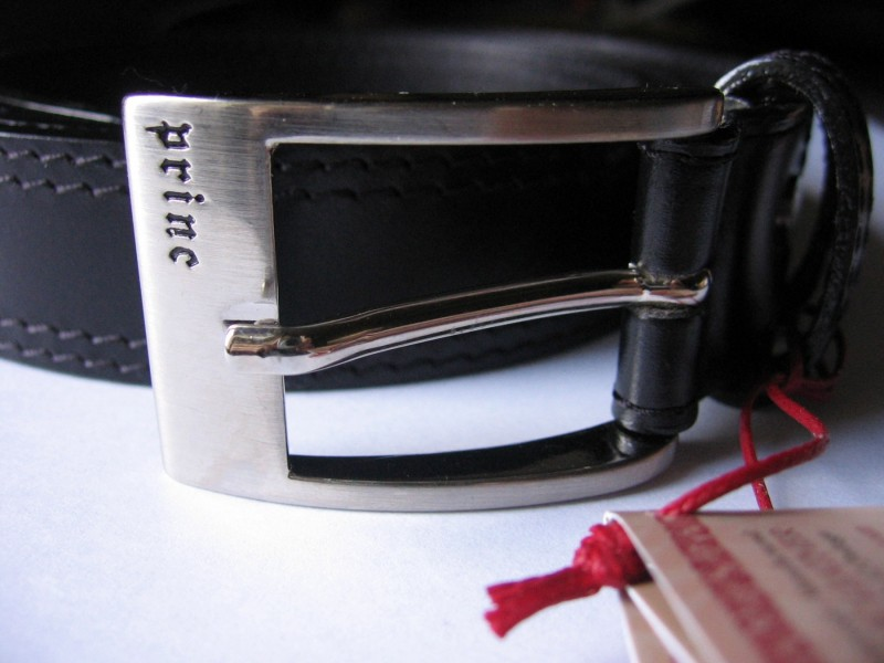 Muški kožni kaiš `PRINC` leather, novo