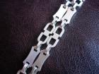Muski lanac od cistog 925 srebra 70cm prelep unikat
