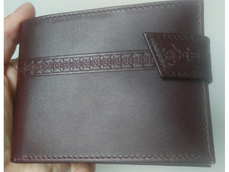 Muški novčanici od prirodne kože, artikal 302
