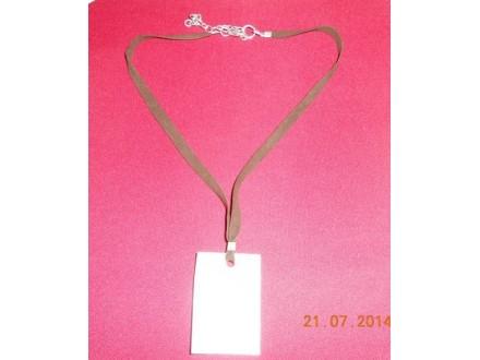 Muško-ženska magična ogrlica - sedef