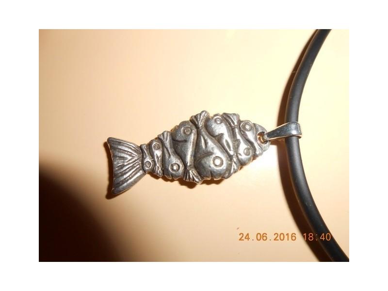 Muško-ženska ogrlica  Ribe