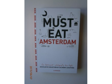 Must Eat Amsterdam, Luc Hoornaert, Kris Vlegels