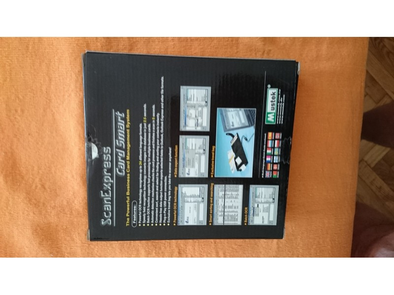 Mustek ScanExpress Card Smart Business Card Scanner