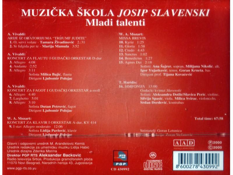 Muzička škola Josip Slavenski - Mladi talenti