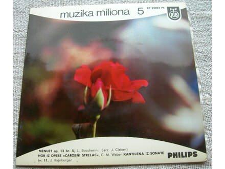 Muzika miliona 5 - Bokerini, Veber, Rajnberger