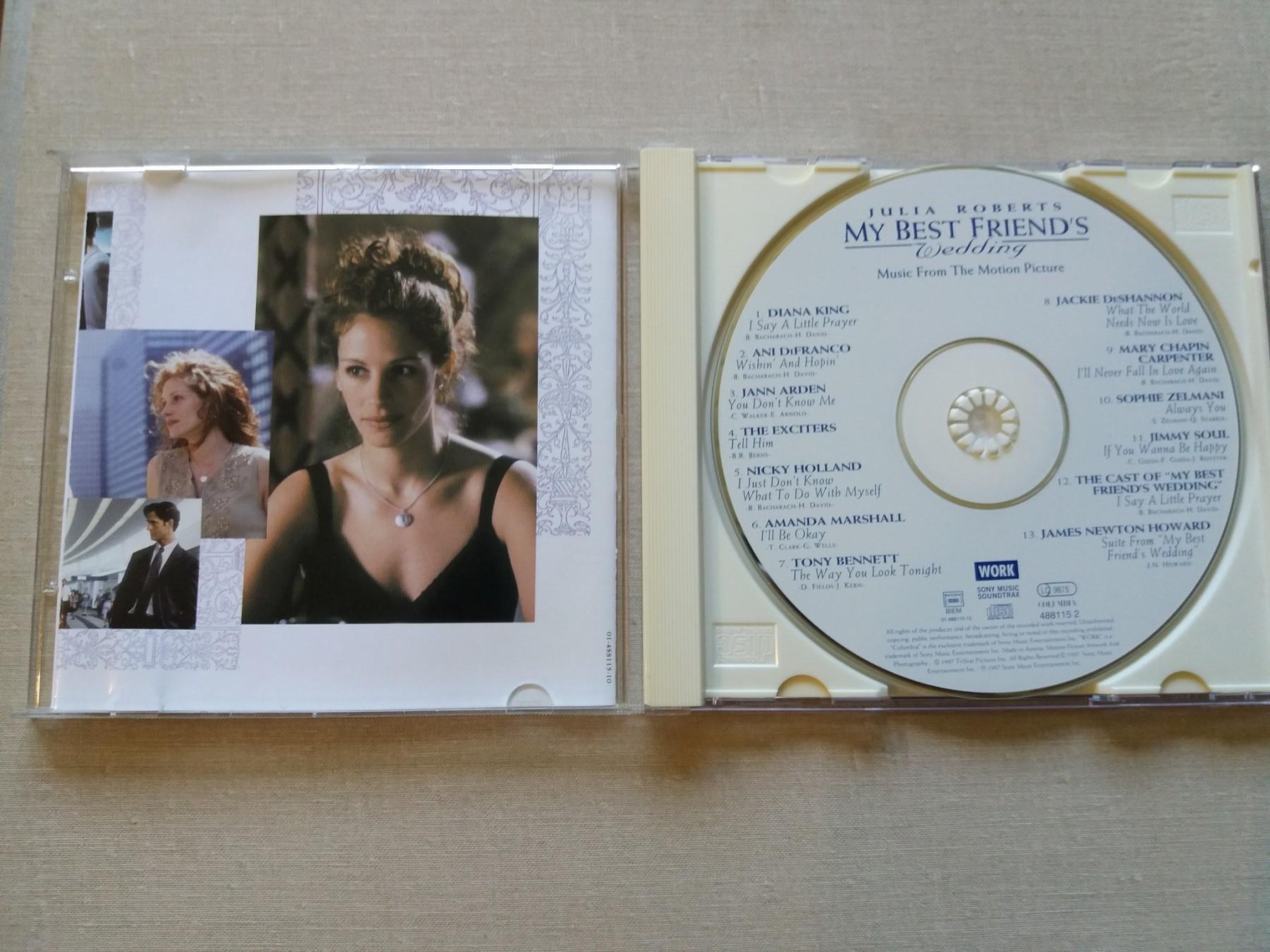My Best Friend S Wedding Soundtrack.My Best Friend Amp 039 S Wedding Soundtrack Kupindo