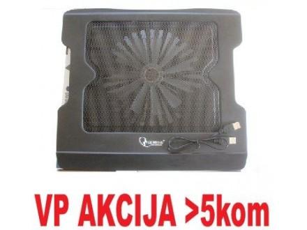 """N8 BLACK ** Gembird hladnjak za laptop 15-17"""" 1x160mm FAN 340x 310x35mm, postolje notebook (399)"""