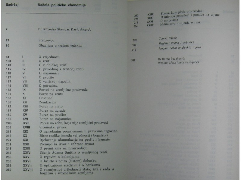 NAČELA POLITIČKE EKONOMIJE - David Ricardo
