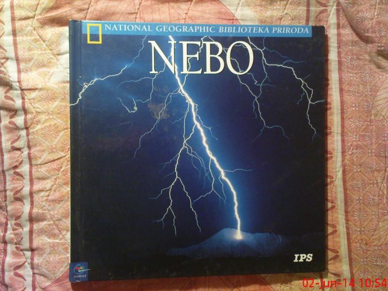 NACIONAL GEOGRAPHIC - BIBLIOTEKA PRIRODA - NEBO
