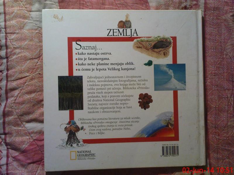 NACIONAL GEOGRAPHIC - BIBLIOTEKA PRIRODA - ZEMLJA
