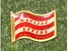 NAVIJAČ ZVEZDE-u obliku zastave.