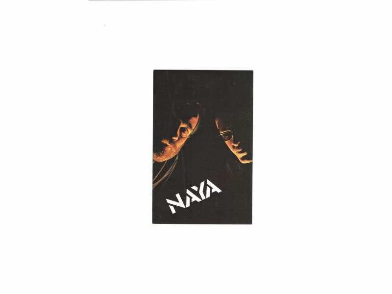 NAYA - promo razglednica   10 x 15 cm