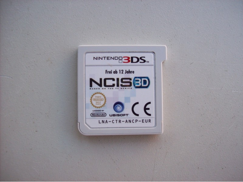 NCIS 3D  za  Nintendo 3DS
