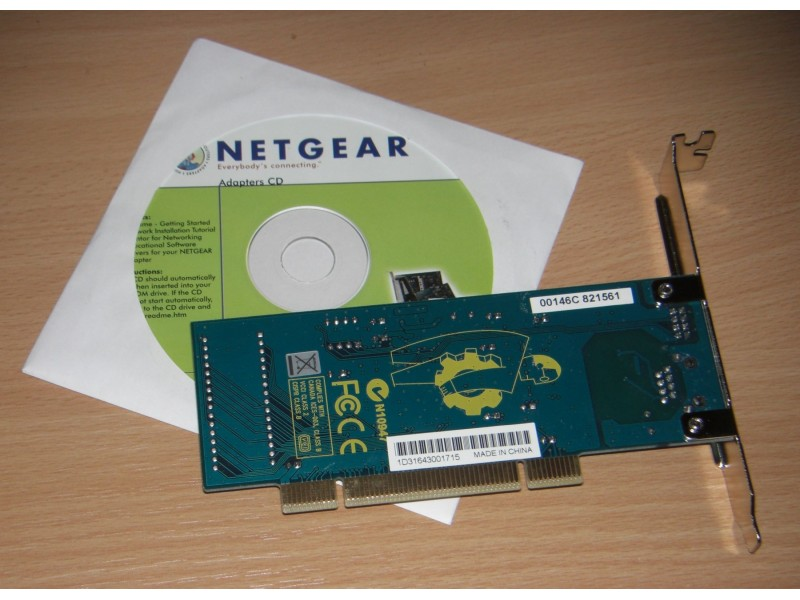 NETGEAR GA311 Gigabit PCI Adapter