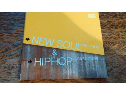 NEW SOUL (ONE TO FEEL) & HIPHOP (ONE TO MOVE)  2 CD