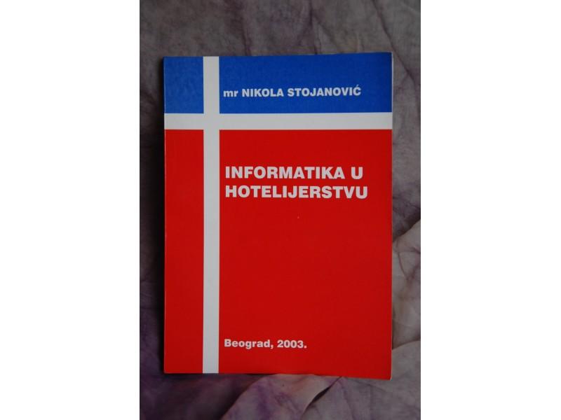NFORMATIKA U HOTELIJERSTVU