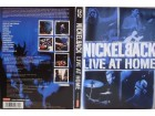 NICKEL BACK - LIVE AT HOME - DVD