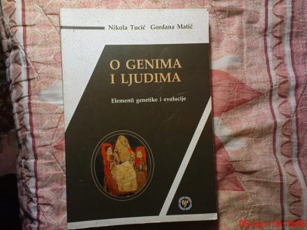 NIKOLA TUCIC - GORDANA MATIC - O GENIMA I LJUDIMA