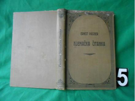 NJemačka čitanka : Ernest Pascher 1915.g