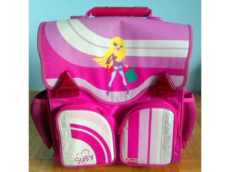 NOVA Herlitz ženska anatomska školska torba+pernica