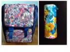 NOVA dečija muška školska torba+pernica!