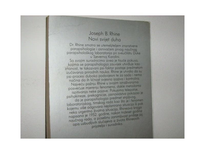 NOVI SVIJET DUHA - JOSEPH B. RHINE