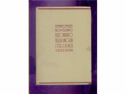 NOVISSIMO DIZIONARIO DELLA LINGUA ITALIANA-F.PALAZZI