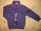 NOVO-NEXT set(košulja, tanji džemper i kravata) 18-24 M