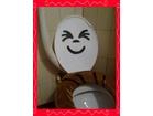 NOVO-PRELEPA DEKORACIJA `SMAJLI` ZA POKLOPAC WC ŠOLJE-3