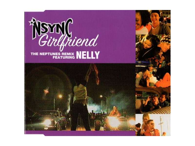 NSYNC, Nelly - Girlfriend (The Neptunes Remix) CD-SINGL