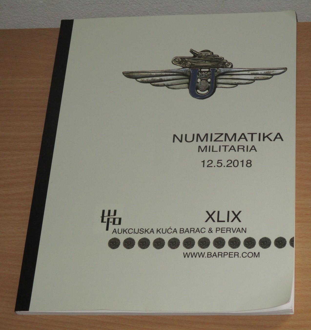 Numizmatika Militarija Katalog Sa Aukcije Kupindocom