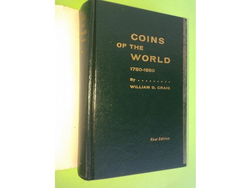 NUZMATIČKI KATALOG - COINS OF THE WORLD 1750-1850