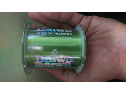 Najlon Daiwa Justron 500m 0,205mm zelene boje
