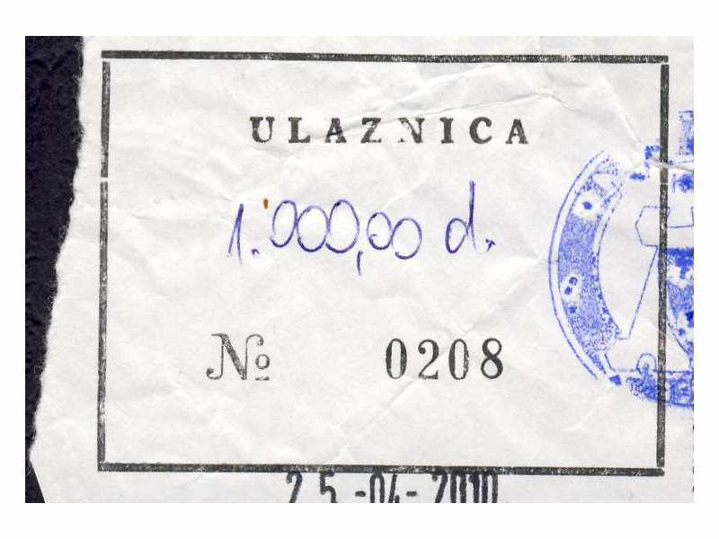 Najskuplja i najružnija prvenstvena `ulaznica`  2009/10
