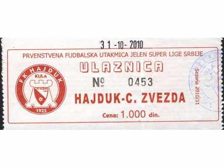 Najskuplja prvenstvena ulaznica za sezonu  2010/11