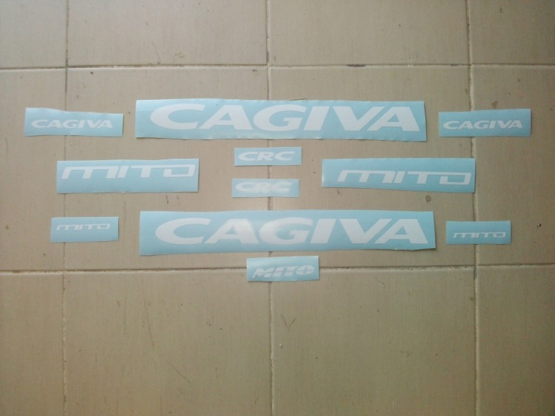 Nalepnice za motore Cagiva Mito 125