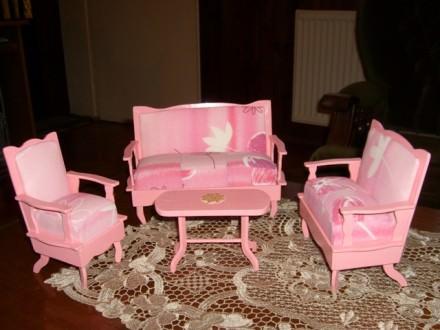 Namestaj za lutke - dnevna soba