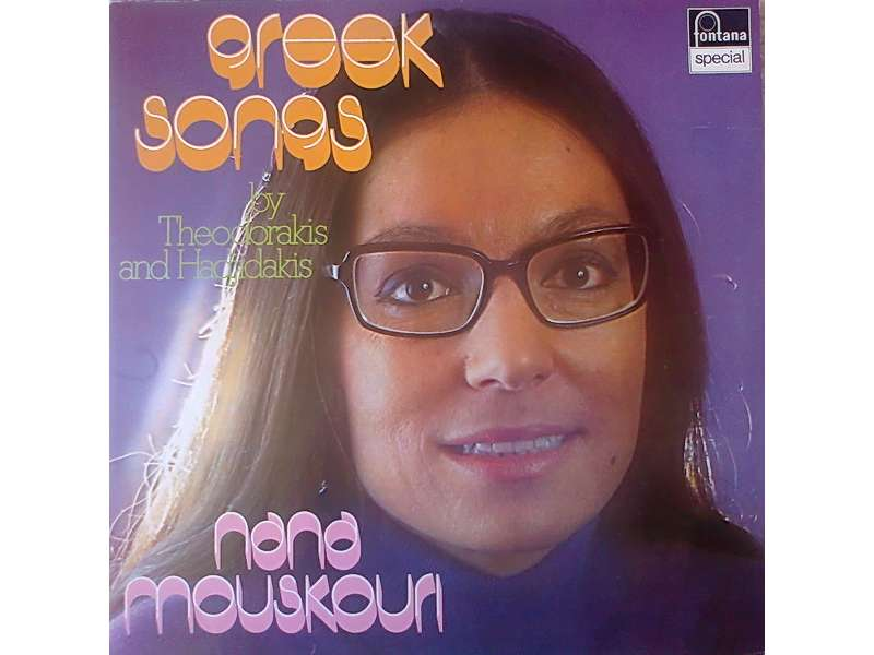 Nana Mouskouri - Greek Songs By Theodorakis And Hadjidakis