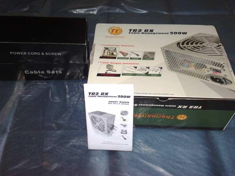 Napajanje Thermaltake 500W TR2 RX! Modularno!