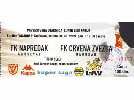Napredak - Crvena Zvezda   ,   2009.god.