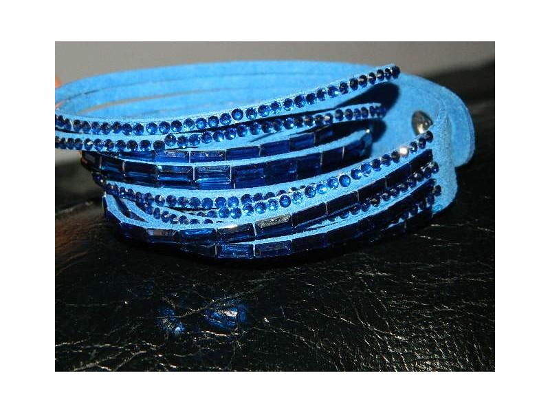 Narukvica-ogrlica  imitacija swarovski