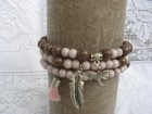 Narukvice,komplet,akrilne perle