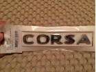 Natpis / Znak - ``CORSA`` OPEL Corsa D 06-14