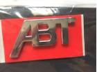 Natpis - znak - VW ABT Chrome